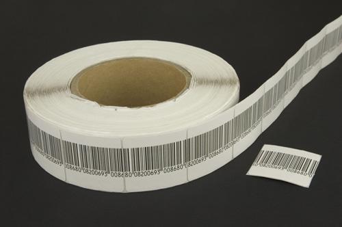 Shopguard Austria | Full 4x4 barcode RF roll